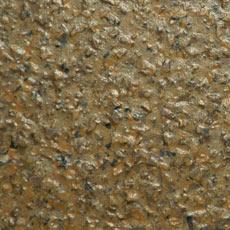 Смолистый пол с акриловыми лепестками, коричневый, полная засыпка лепестков