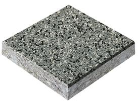 Эпоксидный пол, кварцевый песок серого цвета