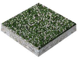 Эпоксидный пол, piasek kwarcowy зеленый