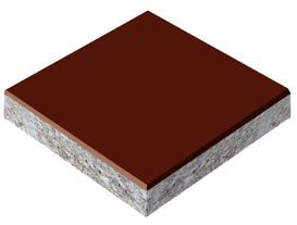 Kolor коричневый эпоксидный пол
