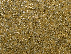 Жёлтый наливной пол ц кварцевым песком